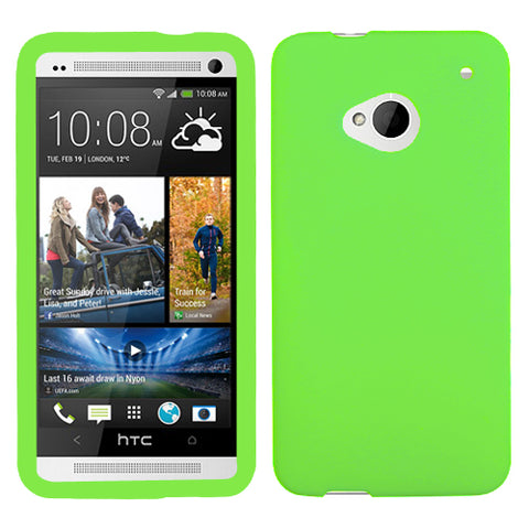 Solid Silicone Skin Cover Case for HTC One M7