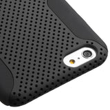 Black Astronoot Hard + Silicone Protector Cover Case for iPhone 6 Plus