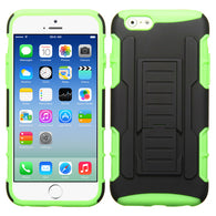 Black/Lime Green-Rubberized