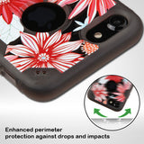 For iPhone 7 / 8 Spring Daisies/Smoke Chali-FreeStyle Protector Case Cover