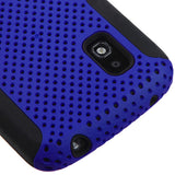 Dark Blue/Black Astronoot Snap On Protective Cover Case for LG Nexus 4 E960