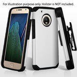 For Motorola Moto X/G5 Silver/Black Astronoot Phone Armor Protector Case Cover