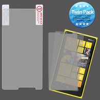 2x LCD Screen Cover Protector Film with Cloth Wipe for NOKIA: 920 Lumia 920
