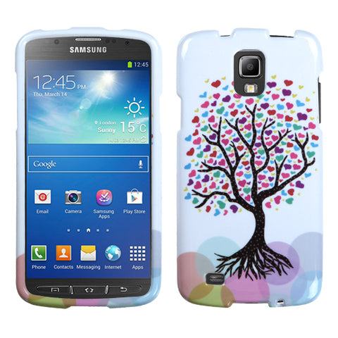 Two Piece Hard Snap on Design Protective Case for Samsung i537 Galaxy S4 Active