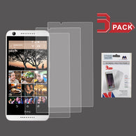 For HTC Desire 530/626S/626 Clear Flexible Screen Protector Film Guard (3-pack)