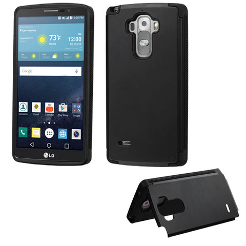 For LG G Vista 2/G Stylo Inverse Advanced Armor Stand Cover Case w/Card Wallet