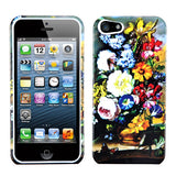 Two Piece Plastic Hard Snap on Design Protective Cover Case for iPhone 5