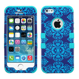 Impact Design Hard Case +Silicone Hybrid Protector TUFF Cover for iPhone 5 or 5S