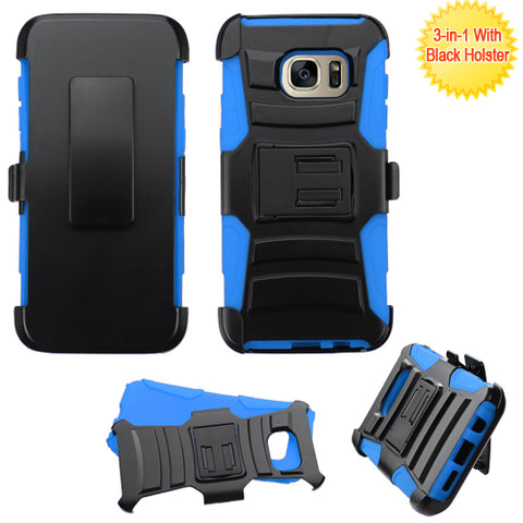 For Samsung Galaxy S7 Edge Impact Advanced Armor Protector Cover Case w/Holster