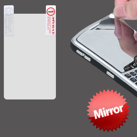 Mirror LCD Screen Cover Protector Film w/ Cloth Wipe Blackberry Torch 9850 9860
