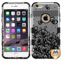 2D Design Case +Silicone Protector TUFF Cover for iPhone 6 Plus 6S Plus
