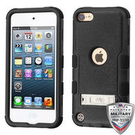 For iPod Touch 5/6 Natural TUFF Hybrid Phone Protector Cover (with Stand)