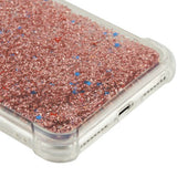 For iPhone 8 Plus 7 Plus Confetti Anti-Drop Quicksand Glitter Bling Hybrid Case