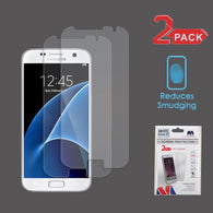 For Samsung Galaxy S7 Clear Anti-grease Ultra Thin Screen Protector Film 2 Pack