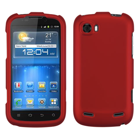For V970T Grand X/Mimosa Titanium Solid Red Phone Protector Cover