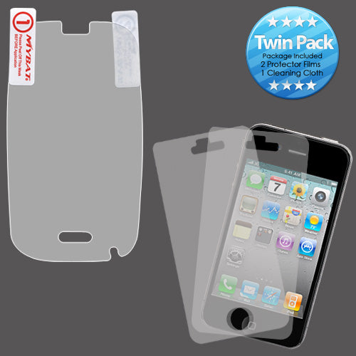 2x LCD Screen Cover Protector Film with Cloth Wipe for Palm Pre 2