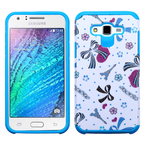 For Samsung Galaxy J7 Advanced Impact Armor Shockproof Protector Case Cover