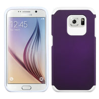 For G920 Galaxy S6 Purple/White Astronoot Phone Protector Cover