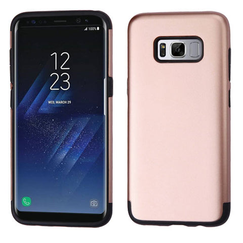 For Samsung Galaxy S8 Plus Glossy Dual Layer Hybrid Hard Protector Case Cover