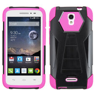 For 5042T OneTouch Pop Astro Hot Pink Inverse Advanced Armor Stand Case Cover