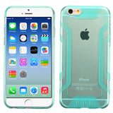 For iPhone 6s/6 Transparent Baby Blue Easy Grip Candy Skin Cover