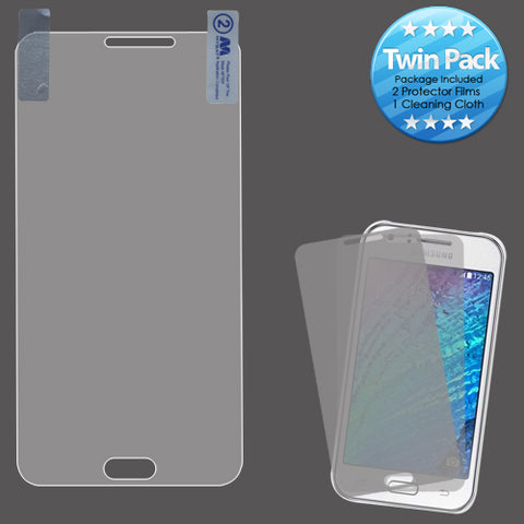 For Samsung Galaxy J7 2015/2016 Clear Screen Protector Film Cover Twin Pack