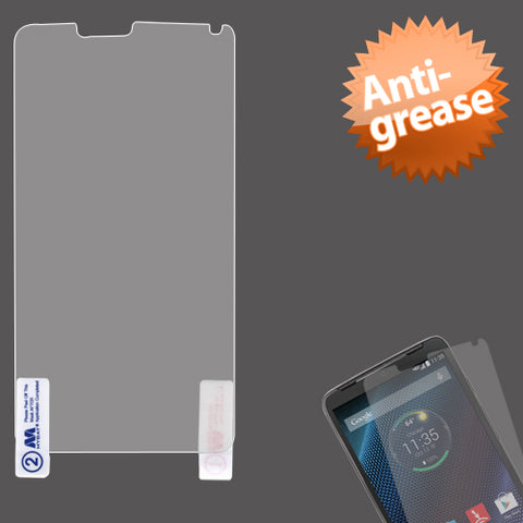 Clear Anti-Grease Screen Protector Cover Film for MOTOROLA: XT1254 Droid Turbo
