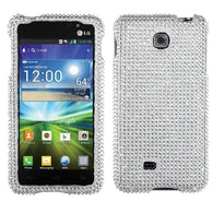 Diamond Bling Jewel Rhinestone Diamante Case Cover Protector for LG Escape P870