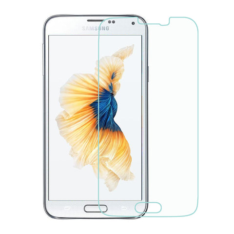 For Samsung Galaxy S5 Clear Tempered Glass Full Screen Protector Film Guard