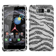 Diamond Bling Jewel Rhinestone Diamante Case Cover - Motorola Droid Razr HD 926W