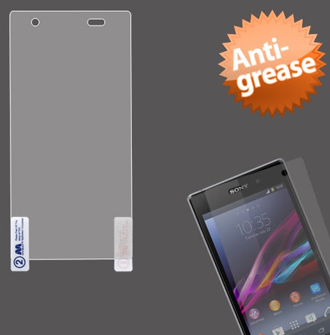 Clear Anti-grease LCD Screen Protector Film Cover for Sony Ericsson Xperia Z1S