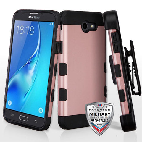 For Samsung Galaxy J7/Halo TUFF Trooper Hybrid Impact Protector Case Cover