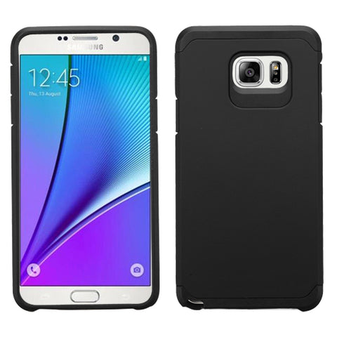 For Galaxy Note 5 Black/Black Astronoot Phone Protector Cover