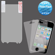2x LCD Screen Cover Protector Film with Cloth Wipe for HTC myTouch 4G Slide