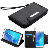 For Samsung Galaxy J7/Halo MyJacket Flip Wallet Phone Case Cover w/ Card Slots