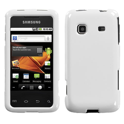 For M820 Galaxy Prevail Natural Ivory White Phone Protector Cover