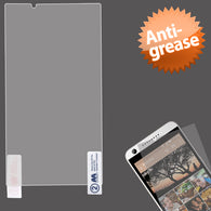 Clear Anti-grease LCD Screen Protector +cloth for HTC Desire 626 626s