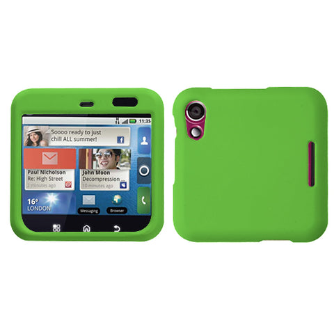 For MB511 Flipout Dr Green Phone Protector Cover (Rubberized)