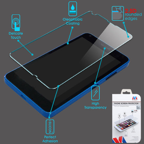 For Nokia Lumia 640 AT&T/Cricket Shatterproof Tempered Glass Screen Protector