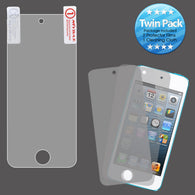 2x LCD Screen Cover Protector Film with Cloth Wipe for iPod Touch 5th Generation