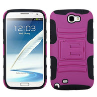 Advanced Armor Rugged Protector Cover Case w/Stand for Samsung Galaxy Note 2