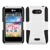 Astronoot Hard Shell + Silicone Protector Cover Case for LG Motion 4G MS770