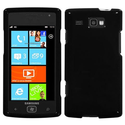 For i677 Focus Flash Natural Black Hard Snap On Protector Cover Case