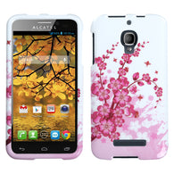 Design Snap on Cover Protector Case for Alcatel One Touch Fierce 7024W