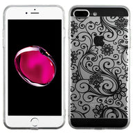 For iPhone 7 / 8 Plus Leaf Clover Phone Case Slim Candy Skin Case Cover