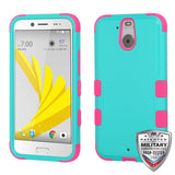 For HTC Bolt TUFF Hybrid Phone Hard Silicone Impact Protector Skin Case Cover