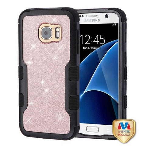 For Samsung Galaxy S7 Full Glitter Bling TUFF Vivid Hybrid Protector Case Cover