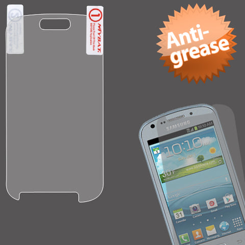 For Samsung R830C, R830 Clear Anti-grease LCD Screen Protector w/ cloth wipe