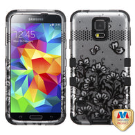 2D Design Case +Silicone Protector TUFF Cover for Samsung Galaxy S5