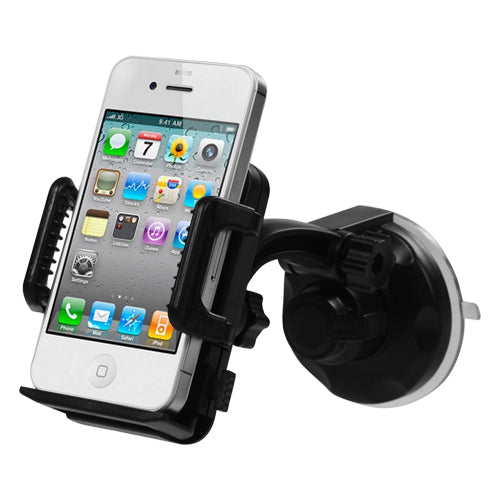 360 Windshield Car Vehicle Holder Mount for Mobile Cell Phones (40mm to 100mm)